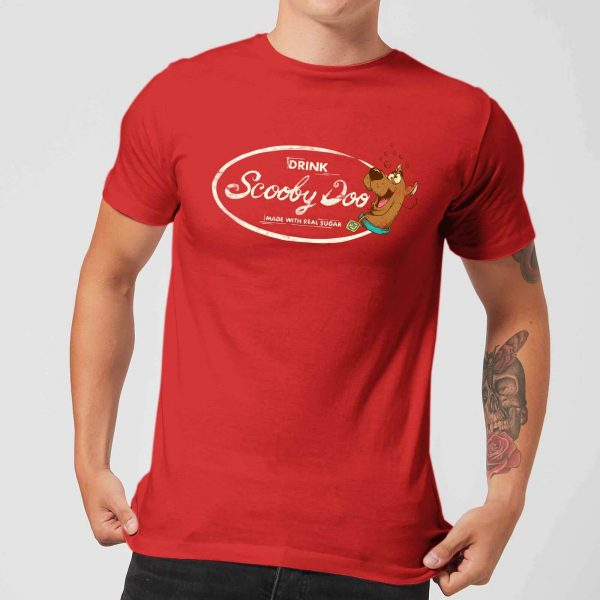 Scooby Doo Cola Men's T-Shirt - Red - S - Red