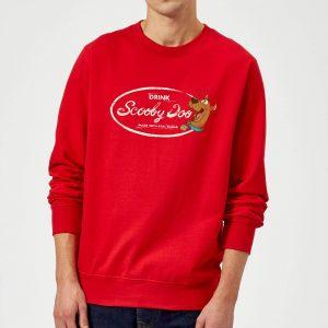 Scooby Doo Cola Sweatshirt – Red – S – Red