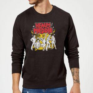 Scooby Doo Heavy Meddle Sweatshirt – Black – S – Black