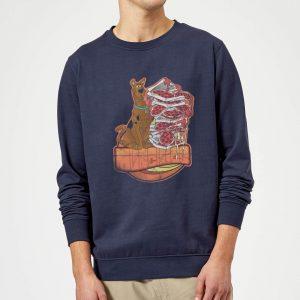 Scooby Doo Munchies Sweatshirt – Navy – S – Navy