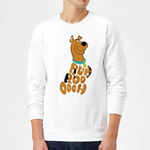 Scooby Doo RUHROOOOOH Sweatshirt – White – S – White