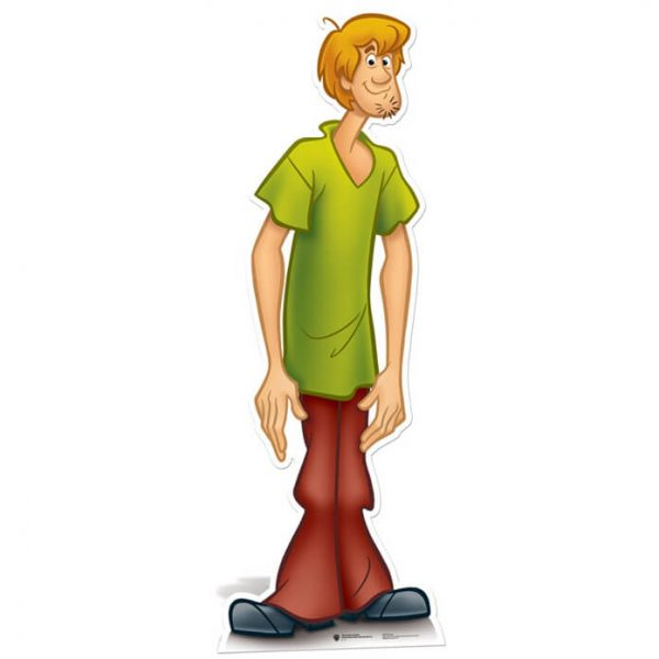 Scooby-Doo! Shaggy Life Size Cut Out
