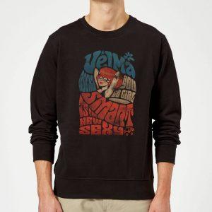 Scooby Doo Smart Is The New Sexy Sweatshirt – Black – S – Black