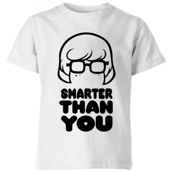 Scooby Doo Smarter Than You Kids' T-Shirt - White - 3-4 Years - White