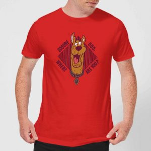 Scooby Doo Where Are You? Men's T-Shirt – Red – S