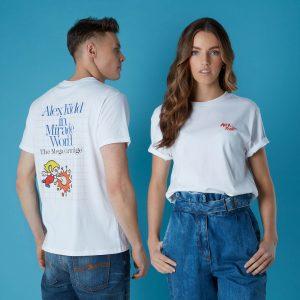 Sega Alex Kidd Unisex T-Shirt – White – XS – White
