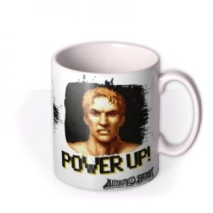 Sega Altered Beast Power Up Never Give Optional Photo Upload Mug By Moonpig, Gift Set – Delivery Available