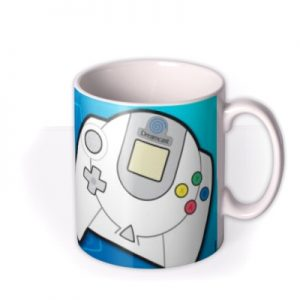 Sega Consoles Retro Dreamcast Gaming In Progress Mug By Moonpig, Gift Set – Delivery Available