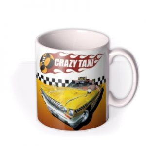 Sega Crazy Taxi Game Characters Mug By Moonpig, Gift Set – Delivery Available