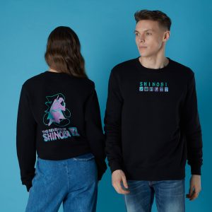 Sega Revenge Of Shinobi Unisex Sweatshirt – Black – S