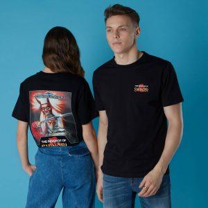 Sega Revenge Of Shinobi Unisex T-Shirt – Black – XS – Black