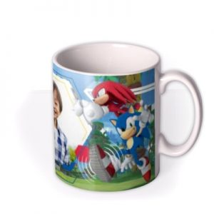 Sega Sonic Its All About Speed Photo Upload Mug By Moonpig, Gift Set – Delivery Available