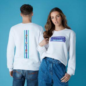 Sega Street Of Rage Unisex Sweatshirt – White – S – White