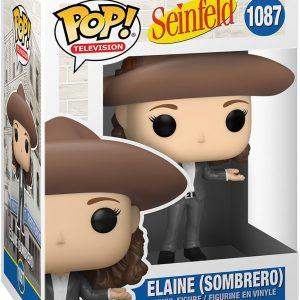 Seinfeld Elaine (Sombrero) Vinyl Figure 1087 Funko Pop! Multicolor