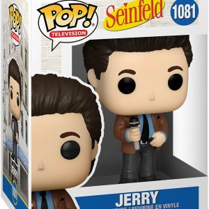 Seinfeld Jerry Vinyl Figure 1081 Funko Pop! Multicolor