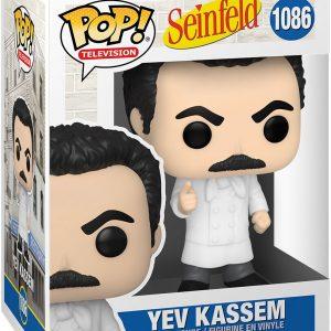 Seinfeld Yev Kassem Vinyl Figure 1086 Funko Pop! Multicolor