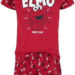 Sesame Street Elmo Pyjama Red