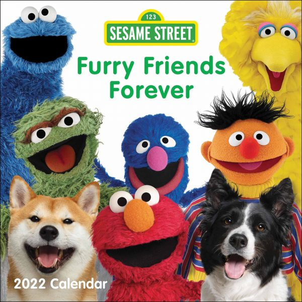 Sesame Street, Furry Friends Forever Official Calendar 2022
