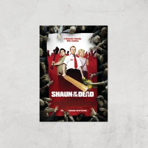 Shaun Of The Dead Giclee Art Print – A4 – Print Only