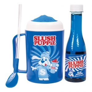 Slush Puppie Making Cup & Blue Raspberry Set