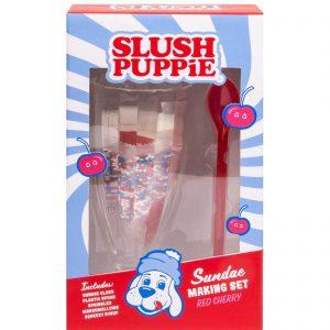 Slush Puppie Red Cherry Sundae Set