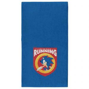 Sonic The Hedgehog Always Running – Fitness Towel