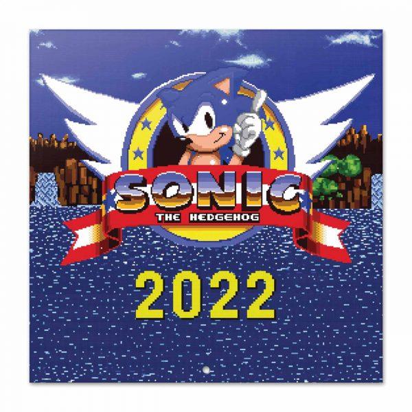 Sonic The Hedgehog Official Calendar 2022