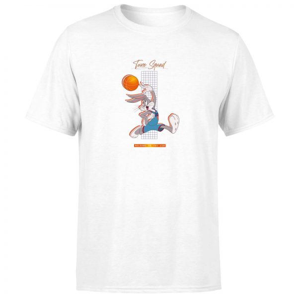 Space Jam Bugs Bunny Basketball Unisex T-Shirt - White - XS