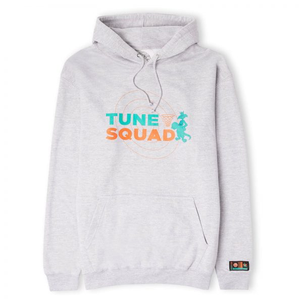 Space Jam Tune Squad Basket Hoodie - Grey - S - Grey