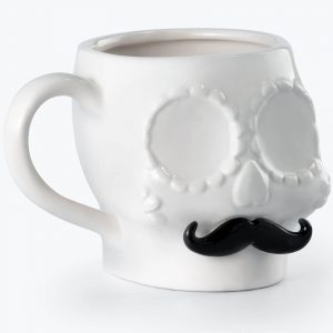 Sugar Skull Mug Male