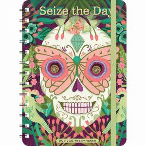 Sugar Skull, Seize The Day A5 Diary 2022