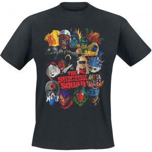 Suicide Squad 2 – Poster T-Shirt Black
