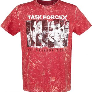 Suicide Squad 2 – Taskforce X T-Shirt Red