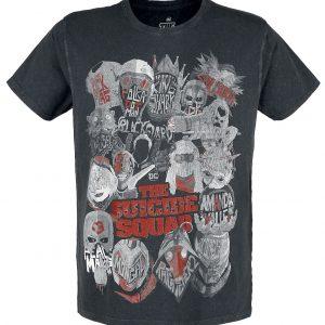 Suicide Squad 2 – The Squad T-Shirt Black