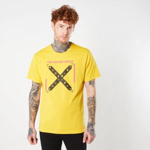 Suicide Squad Task Force X Target Unisex T-Shirt – Yellow – XS – Yellow