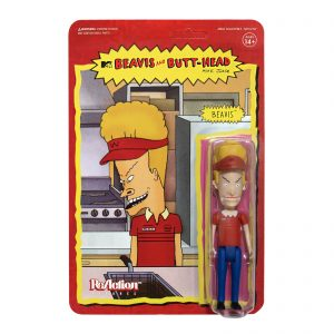 Super7 Beavis And Butt-Head ReAction Figure – Burger World Beavis