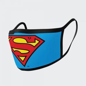 Superman Logo Face Mask – 2 Pack