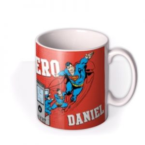 Superman Real Life Hero Personalised Name Mug By Moonpig, Gift Set – Delivery Available