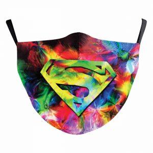 Superman Reusable Face Mask – Adult Size