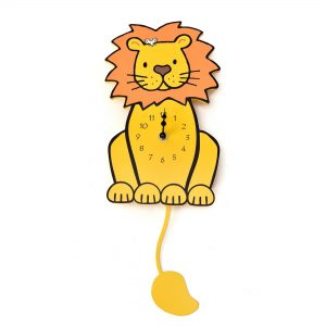 Thats Not My Lion Shaped Wall Clock
