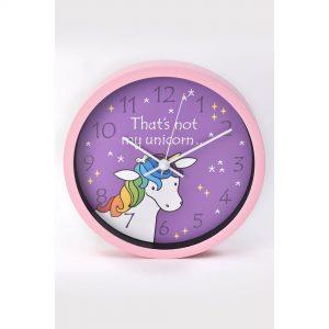 Thats Not My Unicorn Wall Clock