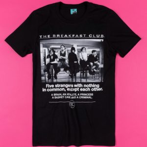 The Breakfast Club Detention Black T-Shirt