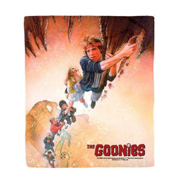 The Goonies Retro Poster Art Fleece Blanket - S