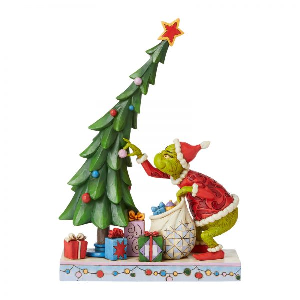 The Grinch By Jim Shore Grinch Undecorating Tree Fig