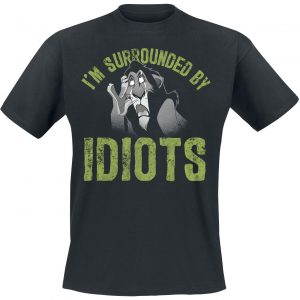 The Lion King I'm Surrounded By Idiots T-Shirt Black