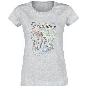 The Little Mermaid Dreamer T-Shirt Heather Grey