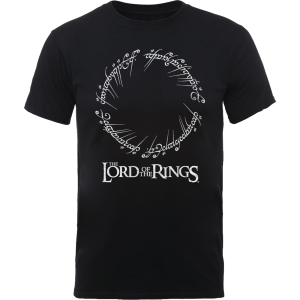 The Lord Of The Rings Men's T-Shirt In Black – S