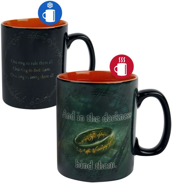The Lord Of The Rings Sauron - Heat-Change Mug Cup multicolour