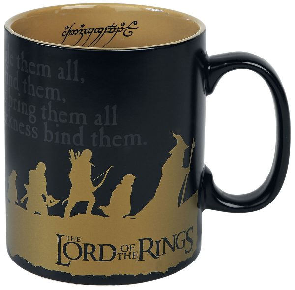 The Lord Of The Rings The Fellowship Cup multicolour