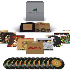 The Marley, Bob & Wailers The Complete Island Recordings CD Multicolor